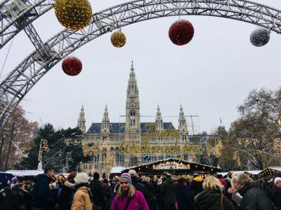 ウィーンのクリスマスマーケット2018