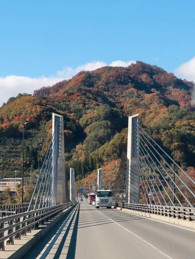 長野原-1 川原湯温泉あたり 八ッ場ふるさと館 昼食/休憩 ☆ドライブ助手席の風景も