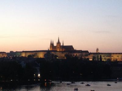 2018年GW プラハ旅行~1日目・パリ経由でプラハ