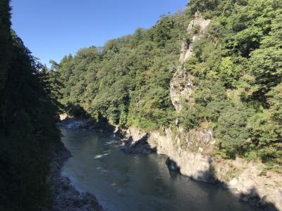 天竜峡ウォーキング:気が向けば観光して下さい。
