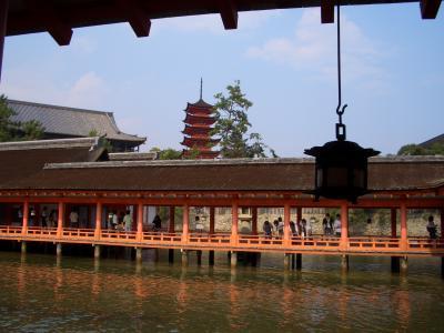 2005秋 広島遠征2:世界遺産 宮島の厳島神社と広島 原爆ドーム