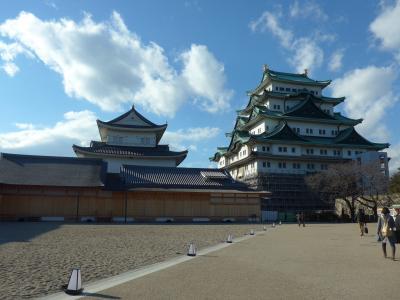 名古屋城と名古屋城本丸御殿を見てきました!!そして名古屋メンバーと食事会!! (^0^)