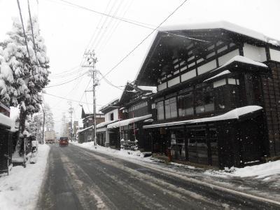真冬の秋田路を行くドライブ旅