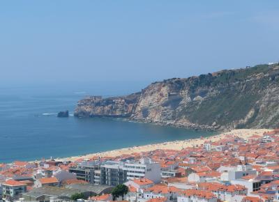 シニア夫婦のスペイン・ポルトガル周遊旅行(35)陽光あふれるナザレ