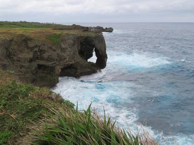 人生初なのに…沖縄は今日も雨だった~3日目/万座毛・古宇利大橋