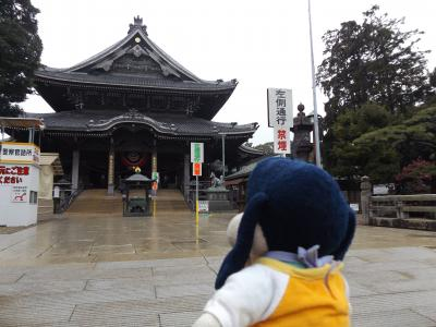 グーちゃん、豊川稲荷へ行く!(DJポリスの出勤日は正月なのだ!編)