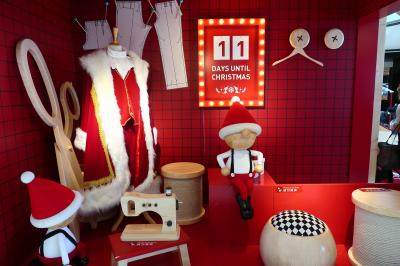 香港★クリスマス2018 サンタさんになれるかも? ~IFCmall國際金融中心商場~
