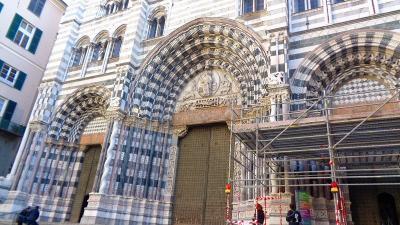 クリスマスシーズンに訪れる ミラノ美術散策の旅(28) ジェノバの観光 その3。