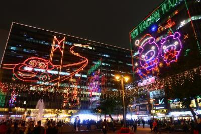 香港★クリスマス2018 クリスマスといえばやっぱりココ!尖東のクリスマスイルミネーション