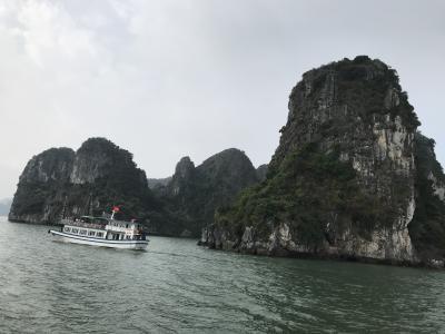ベトナム旅行記④ ハロン湾・ハノイ