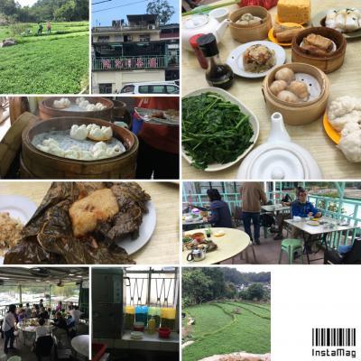 香港で朝食を*世界一のスクランブルエッグとクレソン畑の飲茶