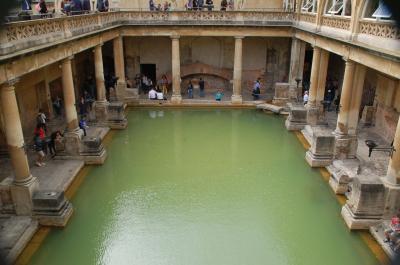 バースにあるローマ浴場跡で、テルマエ・ロマエの世界を垣間見る