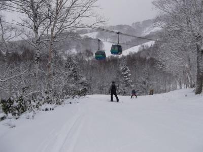 志賀高原で初滑り