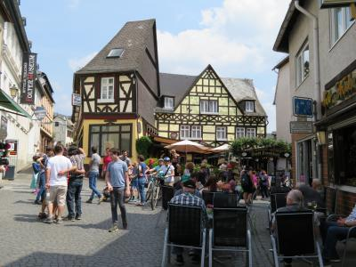 心の安らぎ旅行(2018年 春 Rudesheim am Rhein リューデスハイム Part5 Mittagessen ランチ♪