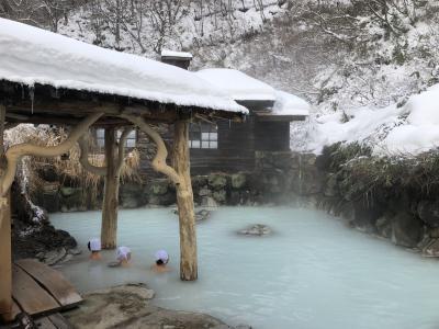 冬の角館・乳頭温泉1泊2日