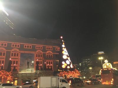 12月のソウルへ。①友人と夕飯、明洞へ。二日目は博物館めぐり。まず、国立ハングル博物館へ。