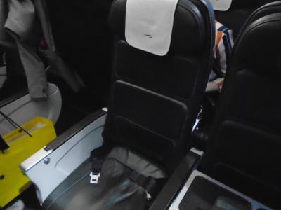 BA440(LHR-AMS)ビジネスクラス機内食