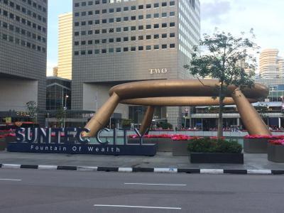 シンガポール旅行  大人3人でたのしむ旅  1日目