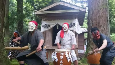 三川権現火祭り