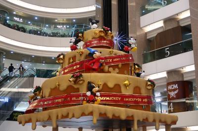香港★クリスマス2018 ミッキー90周年記念ツリー と マイメロディ聖歌隊 ~時代廣場Times Square・SOGO・Fashion Walk・皇室堡Windsor~