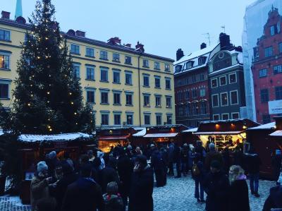 Stortorgetのクリスマスマーケット