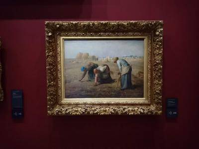 パリへ オルセー美術館 オランジュリー美術館 11月21日から27日