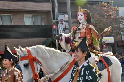 2018 京都の秋を彩る時代祭(平安神宮近辺)後半