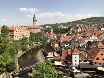 2018年GW プラハ旅行~3日目・チェスキークルムロフ訪問
