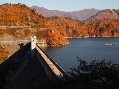 酷道352号線で奥只見湖へ最後の紅葉を見に行く