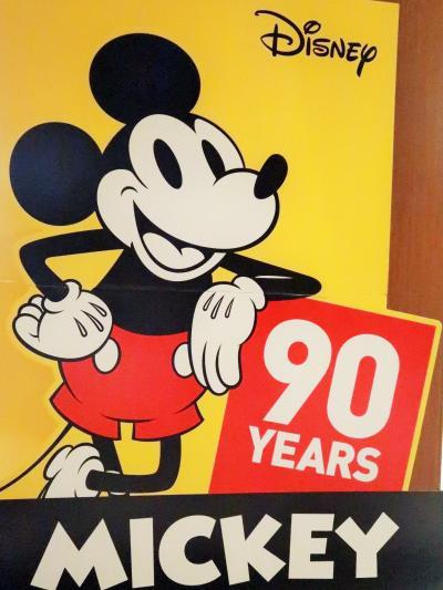 六本木-3 ミッキーマウス 90周年記念グッズ 多彩にセール中 ☆東京ミッドタウンで