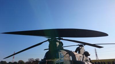 朝霞駐屯地ヘリコプター体験搭乗