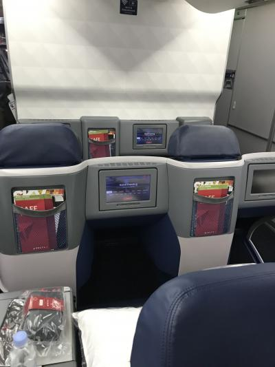 デルタ航空ビジネスクラスで行くハワイ~往路~