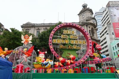 クリスマス気分を味わいに…またまた大橋を渡りマカオへ3★ランチブッフェ と ちょこっとだけパレード ~Elysee Bakery・MISTRAL・Macau International Parade~