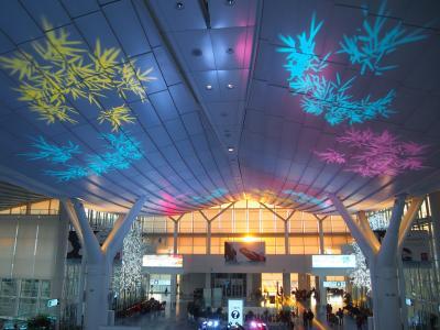 クリスマス当日の羽田空港へ行ってみた。国際線ターミナルではイルミネーション、国内線ターミナルではクリスマスコンサートが見られました