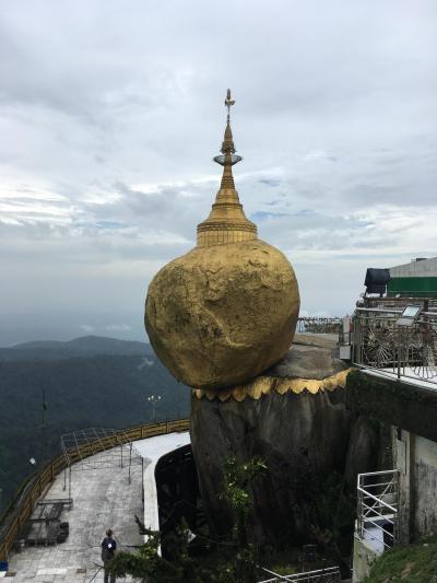 ミャンマー一人旅(6/10)ゴールデンロック