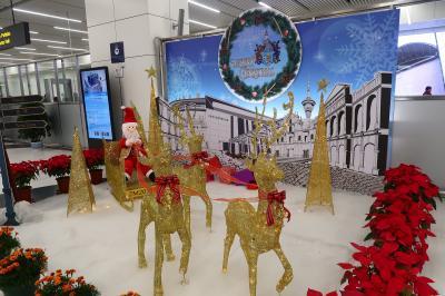 クリスマス気分を味わいに…またまた大橋を渡りマカオへ4★帰りも大橋を渡ってマカオから香港へ