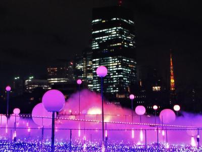 2018年12月 東京 1日目 その2 東京ミッドタウンのクリスマスイルミネーション