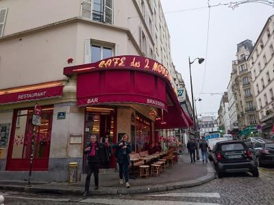 パリへ モンマルトル 映画「アメリ」の喫茶店 11月21日から27日