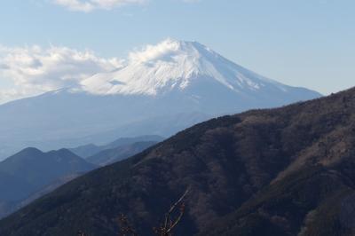 大山20町目から見る富士山
