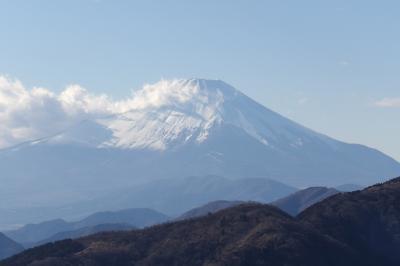 大山25町目辺りから見る富士山
