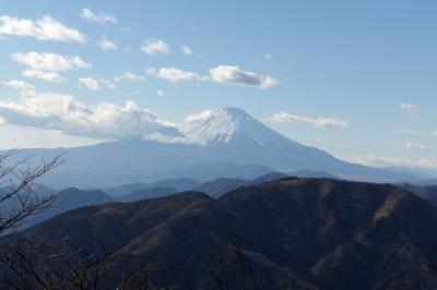 大山27町目から見る富士山