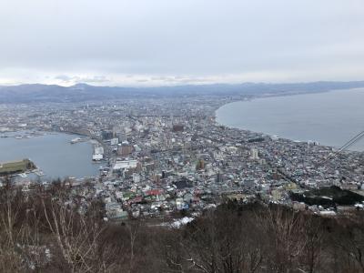 函館山観光と湯の川温泉でゆっくり