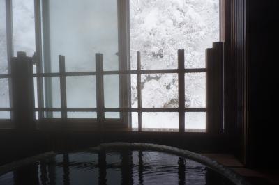 雪の東北ひとり旅 その2(湯田温泉まったり編)