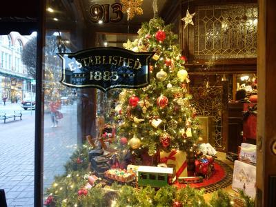 ANAビジネスで行く!今年のクリスマスはバンクーバー&ビクトリアでイルミネーション尽くし!【後半:ビクトリアへ移動!イブはブッチャートガーデンのイルミネーション】