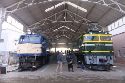 京都鉄道博物館と京都水族館