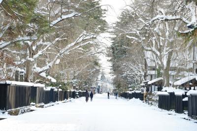雪の東北ひとり旅 その3(角館編)