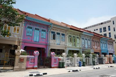 パステルカラーの家並みを再び!ランチは本場カトンのラクサ 懲りずにシンガポール2018年9月の旅4-2