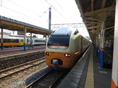 週末パスで2日連続1都12県乗り鉄旅(その2・南東北編)