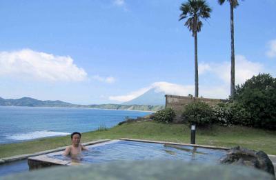 日本一周・歩き旅 『海が見える温泉』