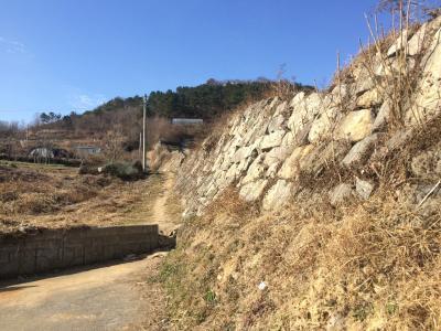 日本海から昇る初日の出を見に西生浦倭城へ